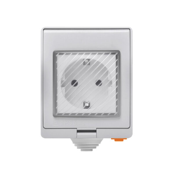 Priza Inteligenta Waterproof WiFi Sonoff S55 (220V)